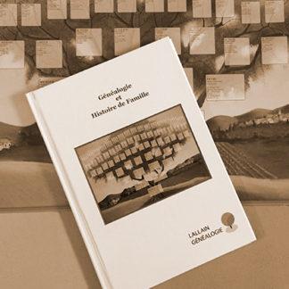Visuel du Livre Généalogique, de l'Histoire de votre Famille